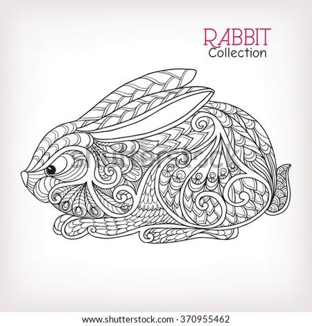 decorative rabbit  easter bunny