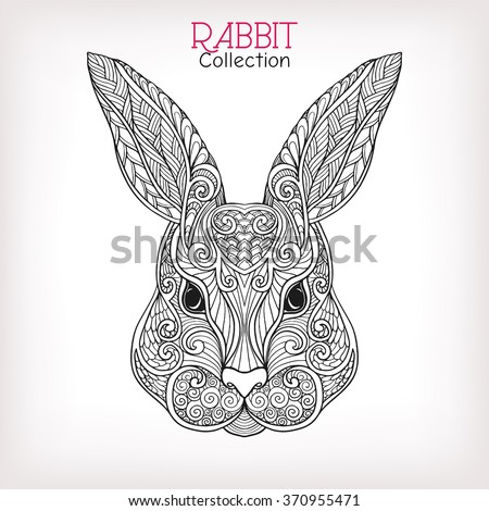 decorative rabbit  easter bunny
