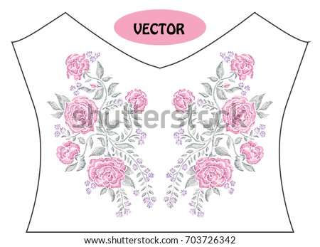 decorative rose flowers in