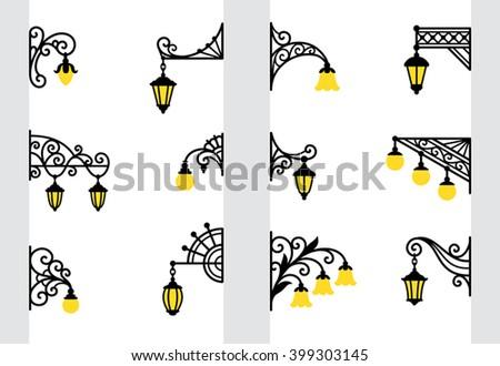 decorative stylized wall