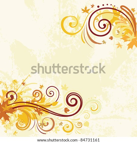 vector decorative background for graphic design - stock vector