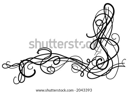 vector : Decorative swirls
