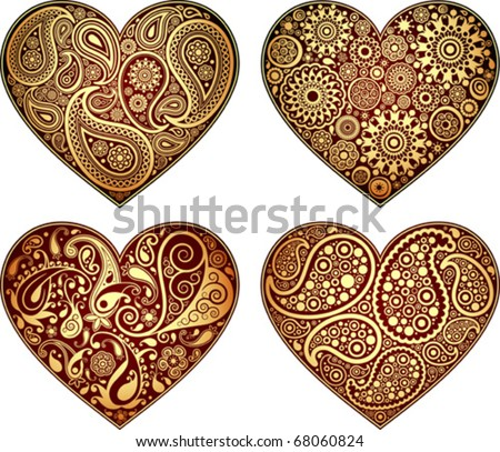 Decorative symbol of heart