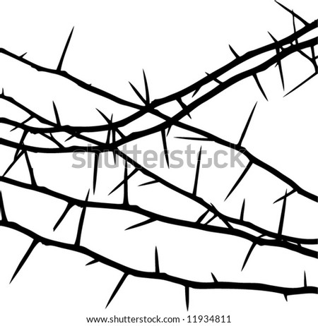 decorative thorns