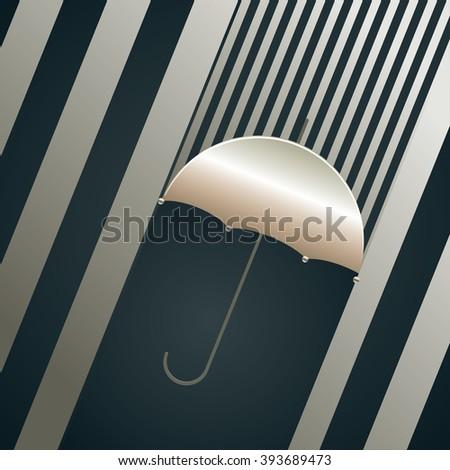 decorative umbrella silhouette
