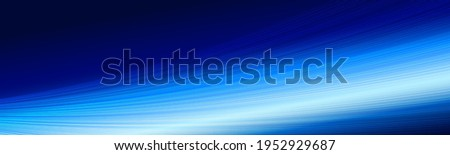 deep blue banner vector with glowing rays and lines of white blurred light vector, waves vector, bokeh lights, advertisement banner, stylish luxury feel, Linkedin banner, Facebook cover, webinar