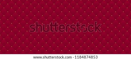 Deep burgundy seamless pattern. Can be used for premium royal party. Luxury template with vintage leather texture wallpaper. Background for invitation card. Saturated royal dark red color backdrop