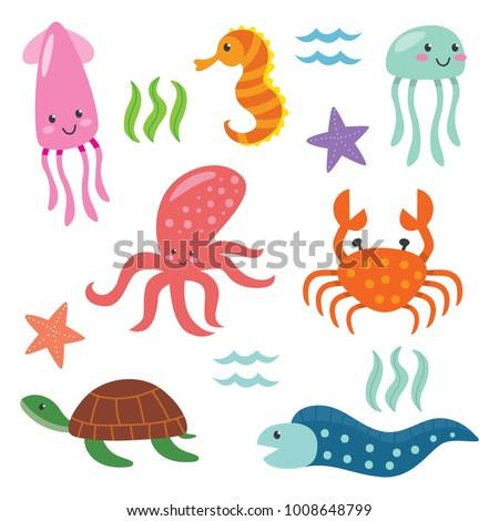 deep ocean fish cute animal