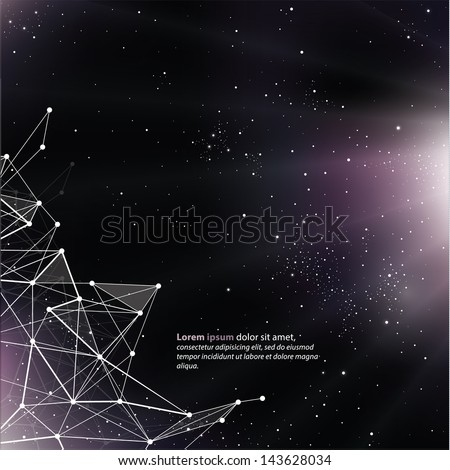 deep space background with