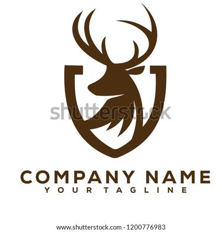 deer creative logo modern