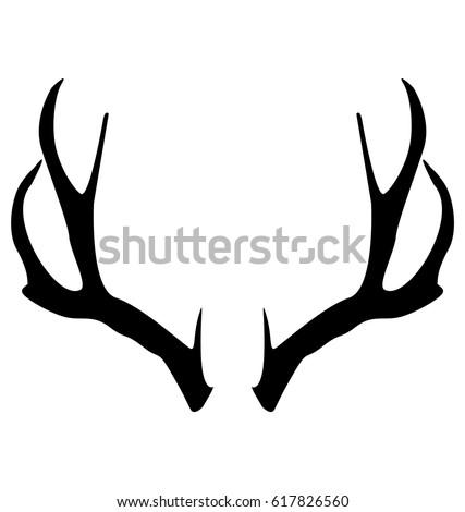 Shutterstock Deer horns vector design