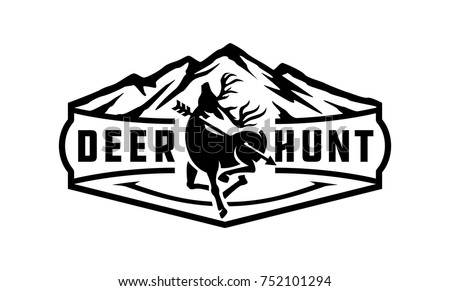 Deer Head Logo Vector Download Free Vector Art Stock Graphics