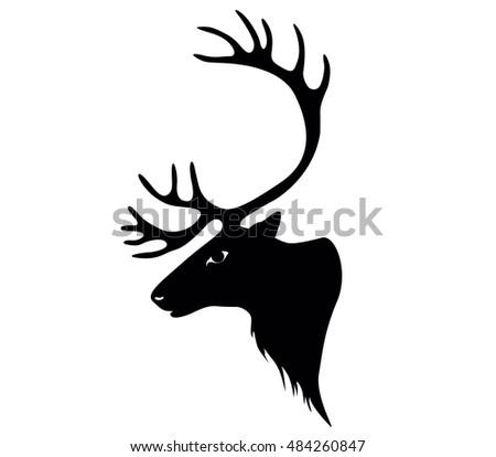 Deer. reindeer or caribou Сток-фото ©