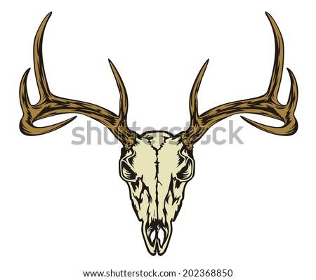 deer skull vector download free vector art stock graphics images rh vecteezy com deer skull vector art free mule deer skull vector