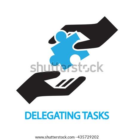 delegating tasks,Assignment, duty symbol