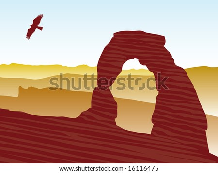 delicate arch at arches