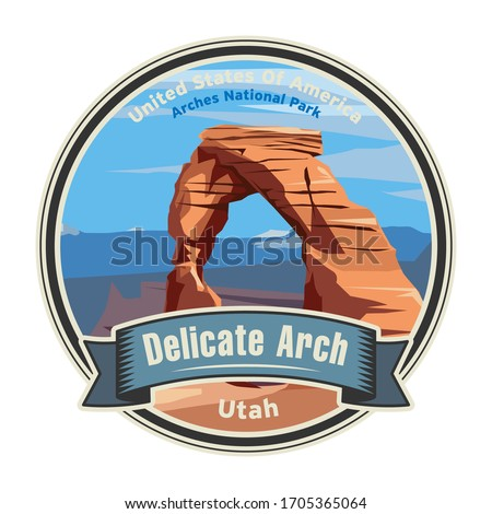 delicate arch in arches