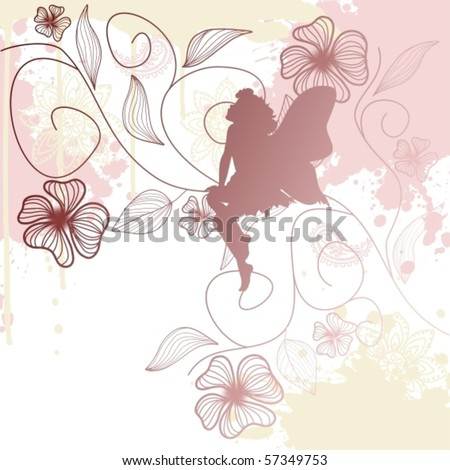 delicate fairy shape with