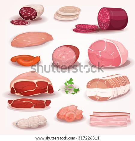delicatessen and butchery meat