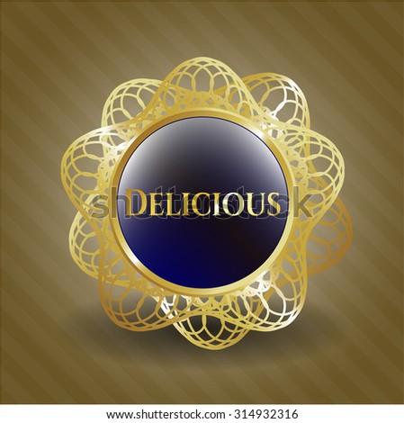 Delicious shiny emblem