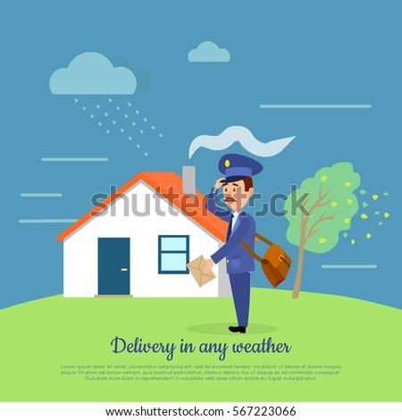 delivery in any weather