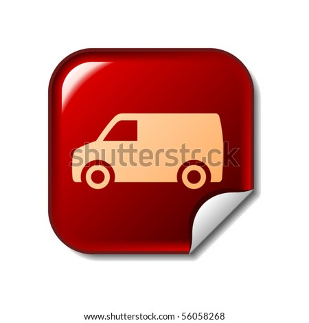 Delivery Van sticker