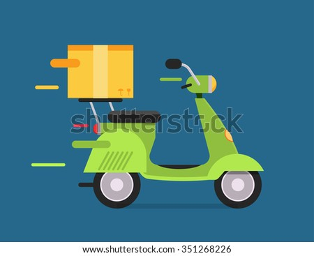 delivery vector transport moto