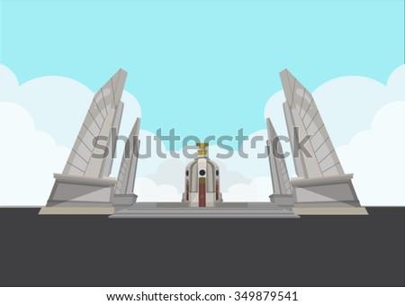 democracy monument of thailand
