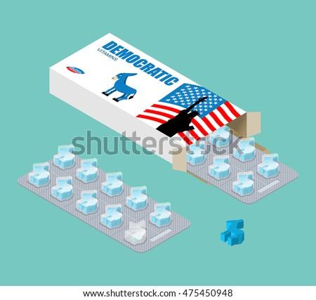 democratic vitamins political