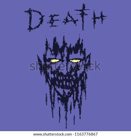 demon face death genre horror