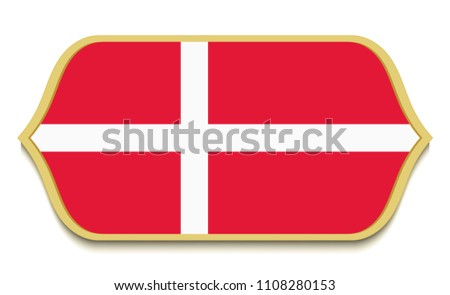 Free Danish Flag Icons Vector - Download Free Vector Art, Stock