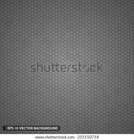 dense detailed hexagon grid