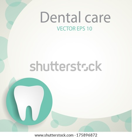 Dental background EPS 10 file