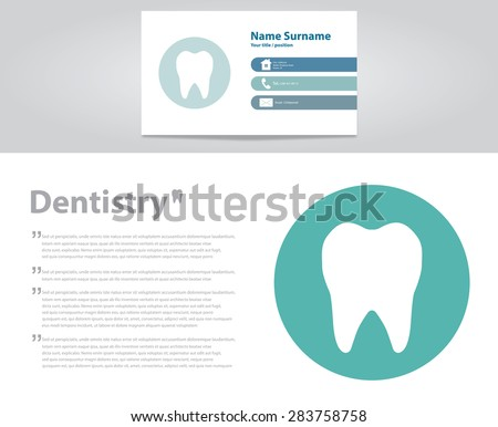 Dental care Tooth concept