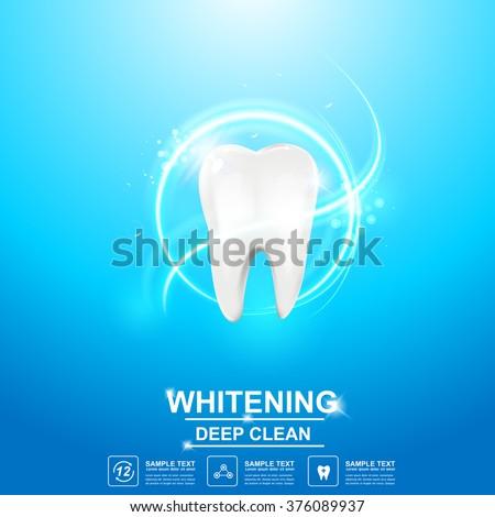 Dental care Tooth Icon vector Concept.