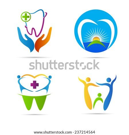 Dental Logo Vector Dental Care Vector Design