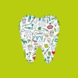 Dental clinic concept, sketch for your design