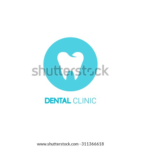dental clinic vector logo tooth