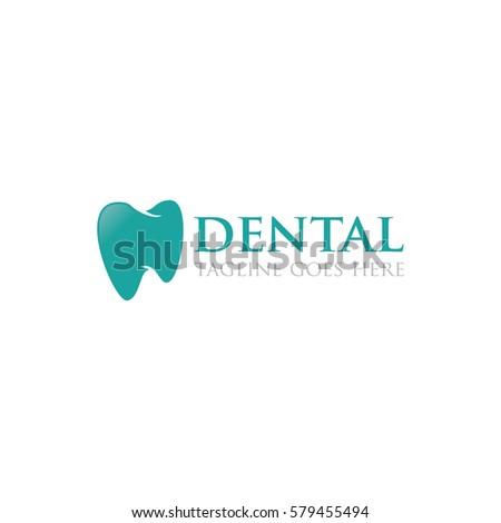 dental concept logo icon vector template