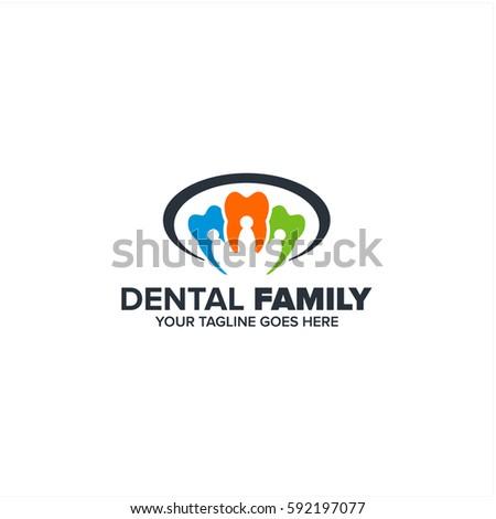 dental family logo icon