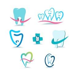Dental icons. Stomatology.