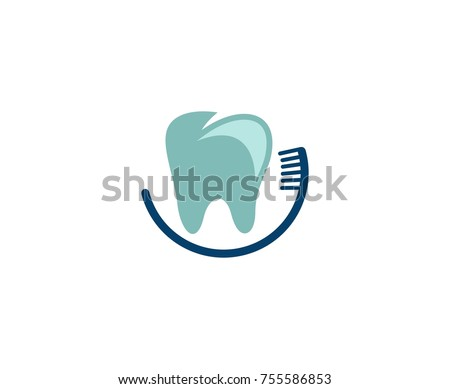 Dental toothbrush logo