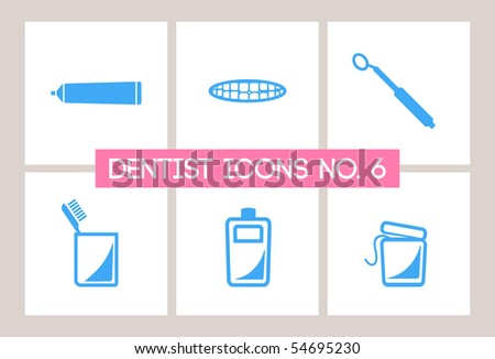 Dentist & Dental Icons #6