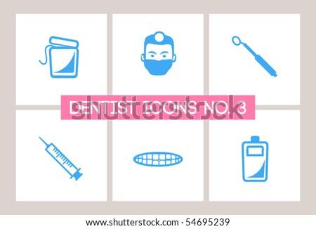 Dentist & Dental Icons #3