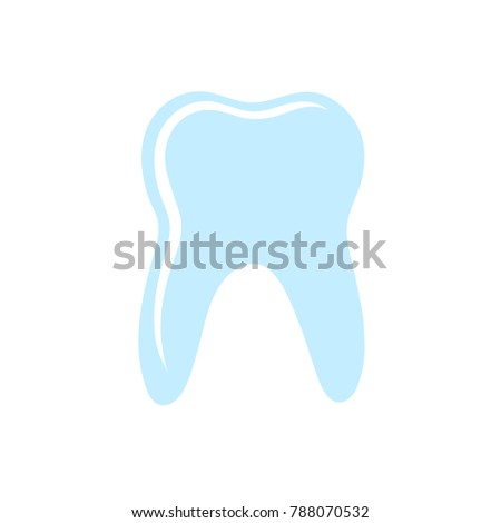 dentist sign icon - dental vector  sign