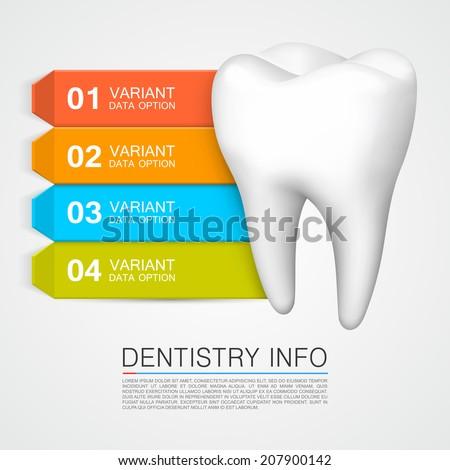 dentistry info vector