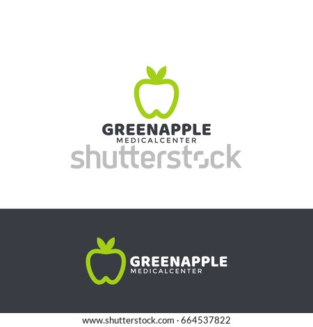 dentistry logo template with