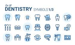 Dentistry Vector Icon