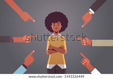 depressed african american girl