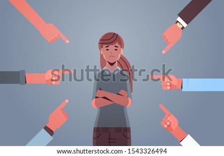 depressed girl teenager being